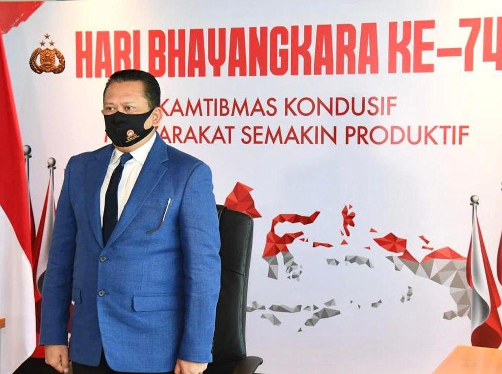 HUT Bhayangkara, Ketua MPR Minta Polri Tiru Hoegeng yang Tak Bisa Dibeli