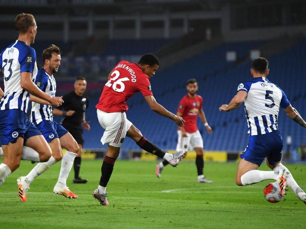 MU Ungguli Brighton 2-0 di Babak Pertama