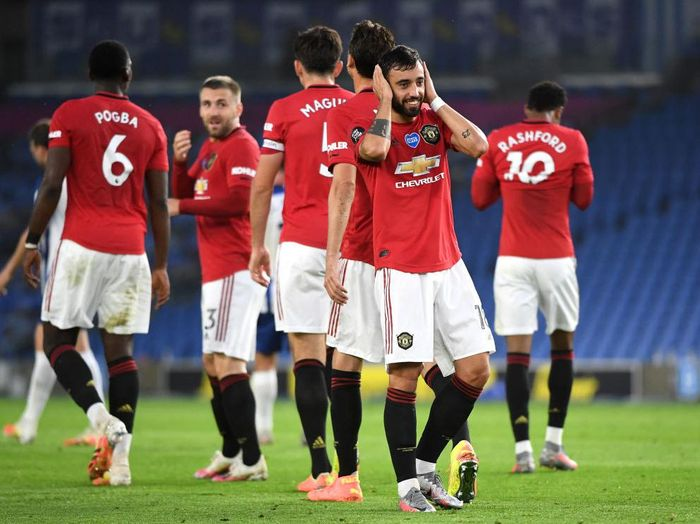 BRIGHTON, ENGLAND - JUNE 30: Bruno Fernandes