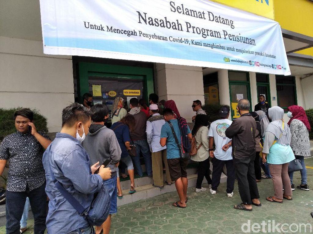 Nasabah Bukopin di Samarinda Kesulitan Tarik Uang