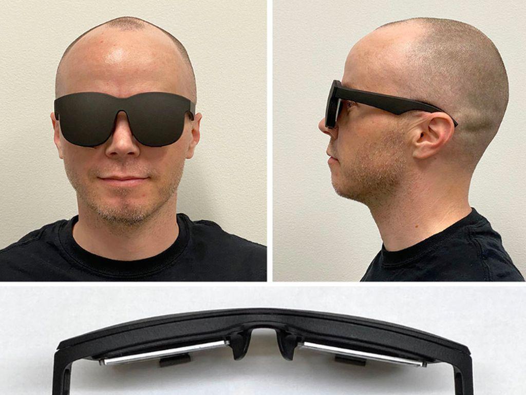 Facebook Bikin Headset VR Canggih yang Mirip Kacamata