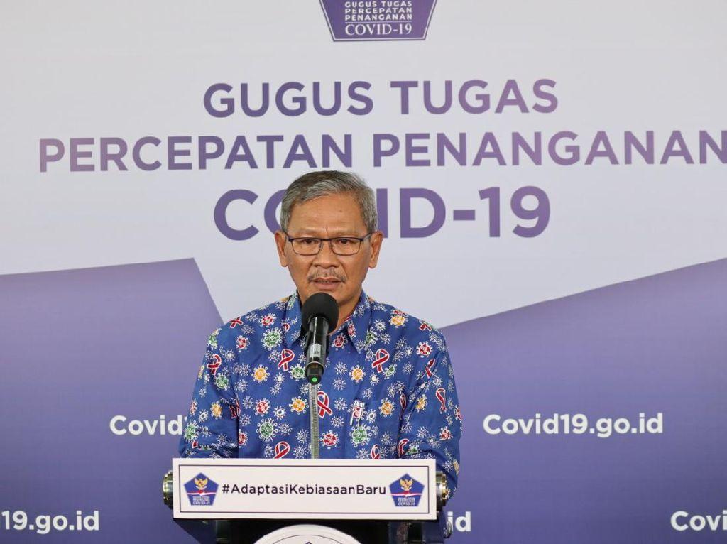Pernyataan Lengkap Pemerintah soal 57.770 Kasus Positif Corona Per 1 Juli