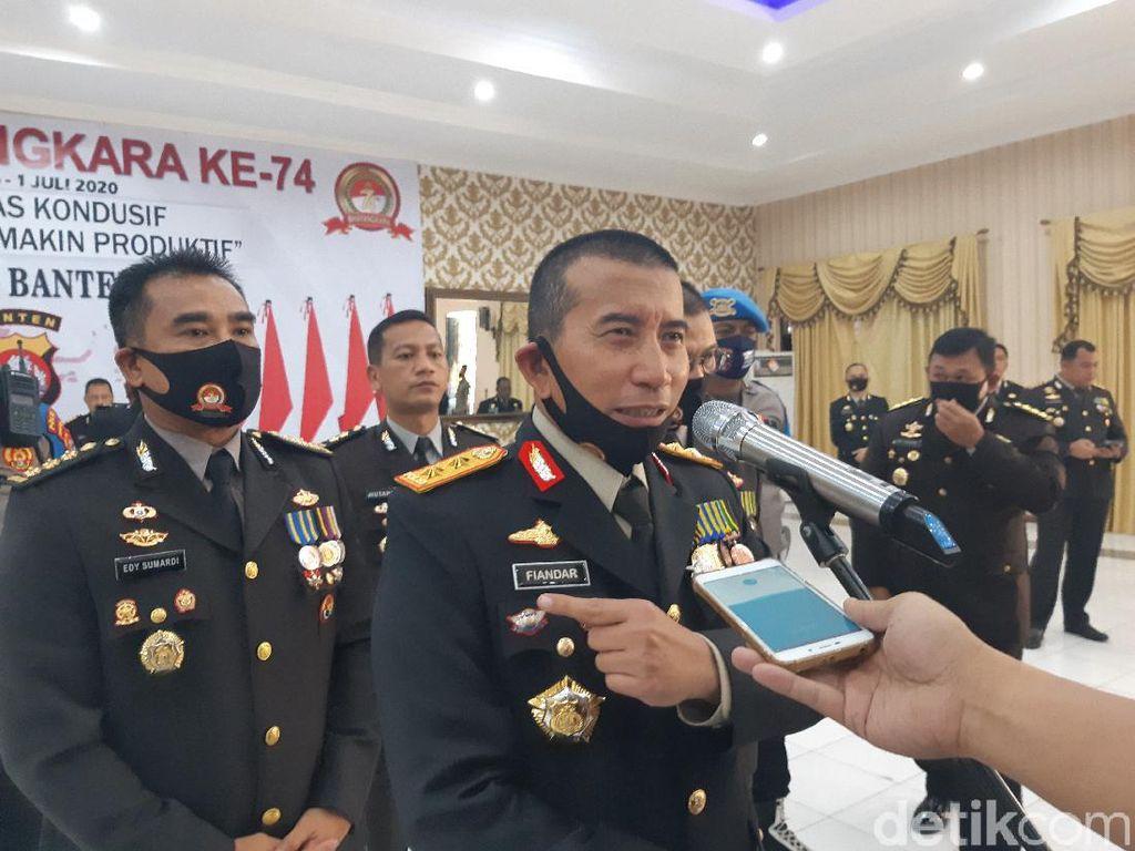 HUT Bhayangkara, Kapolda Banten Bicara Disiplin Kesehatan Warga