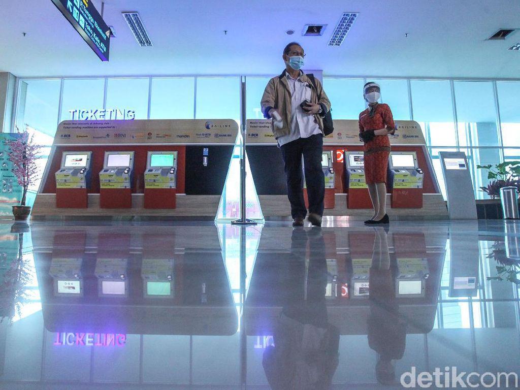 Catat! Ini Jadwal Terbaru Kereta Bandara Soetta