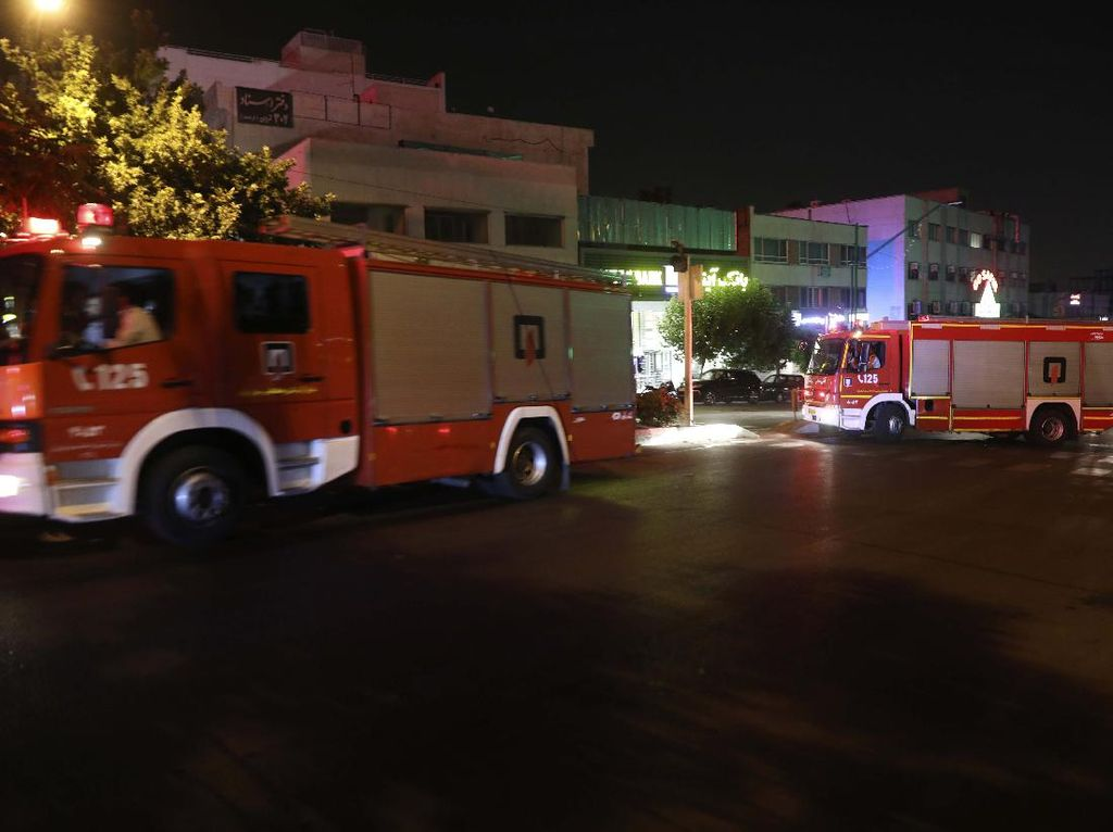 Tabung Gas Klorin Meledak di Iran, 217 Orang Luka-luka
