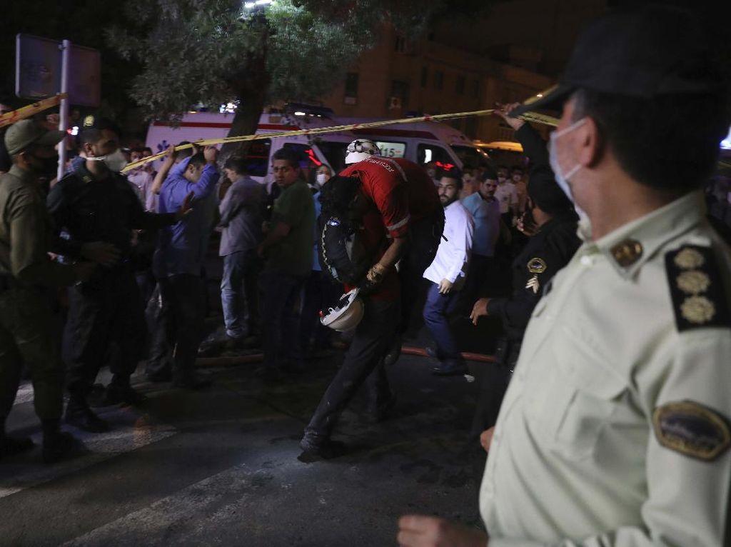 Klinik di Iran Meledak, 19 Orang Tewas
