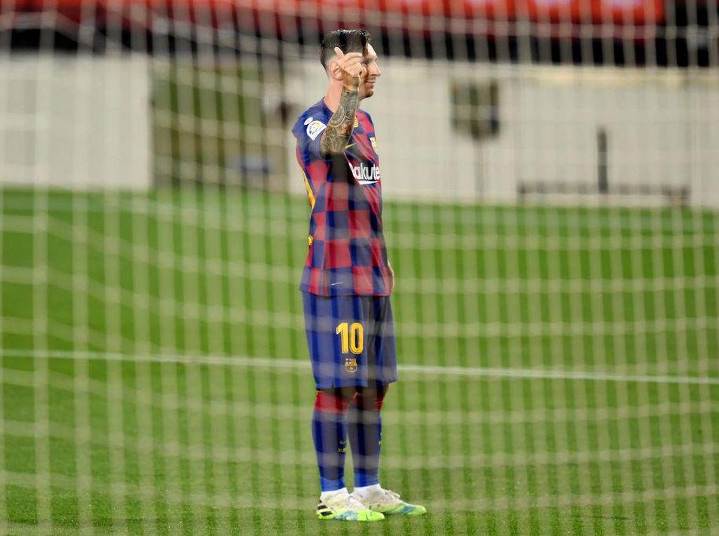 Teror Kaki Kiri Lionel Messi di Balik Koleksi 700 Golnya