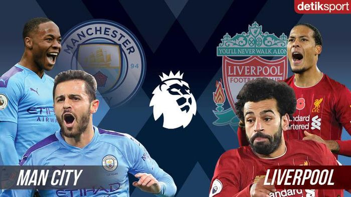 Duel Man City Vs Liverpool: 4-0