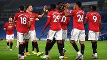 Video: Bruno Fernandes 2 Gol, MU Kalahkan Brighton 3-0