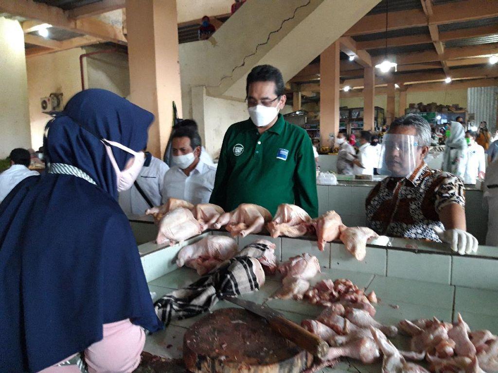 Cek Pasar di Boyolali, Mendag Wanti-wanti Protokol Corona