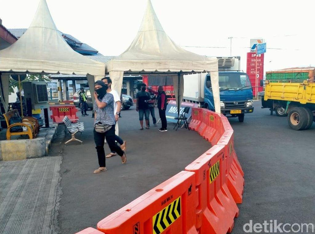 1.500 Rapid Test Disiapkan untuk Sopir Truk Logistik di Pelabuhan Ketapang