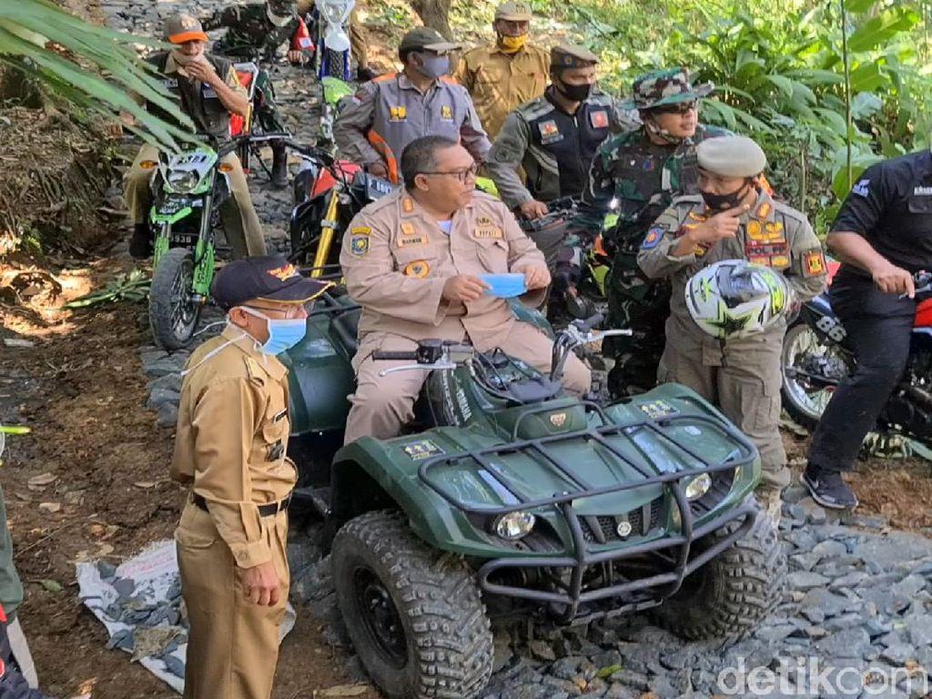 Saat Tiga Matra TNI Bangun Pelosok Selatan Sukabumi Lewat TMMD