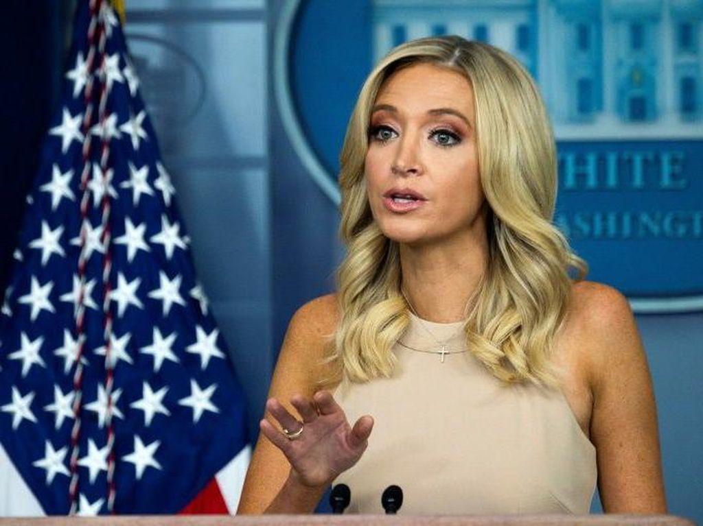 Sekretaris Pers Gedung Putih Positif Corona