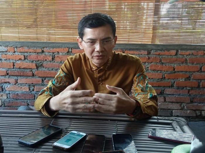 Anak asuh pertama Surya Atmadja, Hadi Pranoto, di Bogor, Rabu (1/7/2020).
