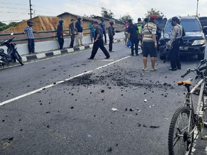 2 Kali Kecelakaan di Flyover Lempuyangan Yogya dalam Sehari Kemarin