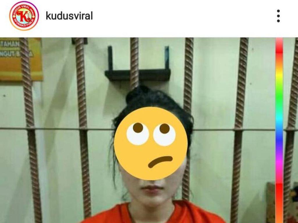 Viral Foto Biduan Dangdut Berbaju Tahanan, Ternyata Ayu Vaganza
