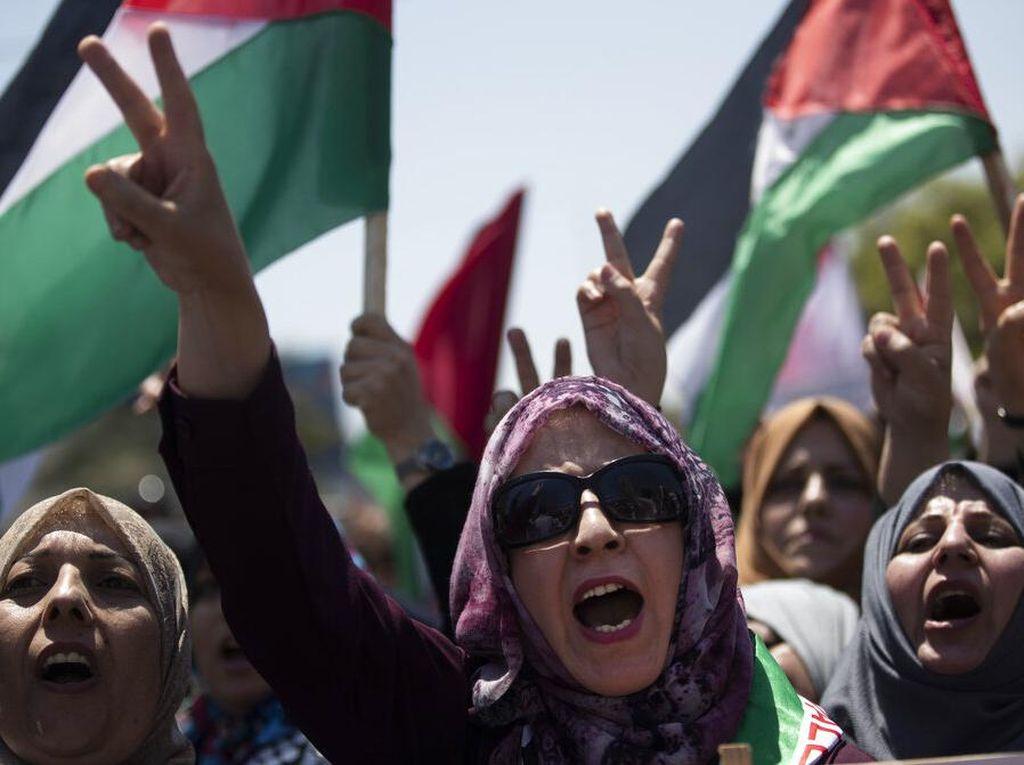 Kecaman Keras Palestina Gegara Dihilangkan dari Peta Dunia