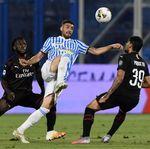 SPAL Vs Milan: Gol Bunuh Diri Selamatkan Rossoneri dari Kekalahan
