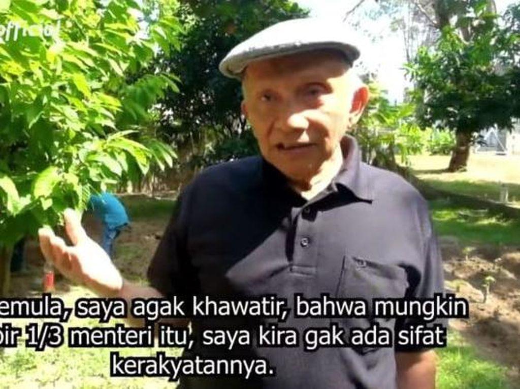 Amien Rais Sebut Sandiwara Jokowi, Anaknya Justru Disodorkan Jadi Menteri