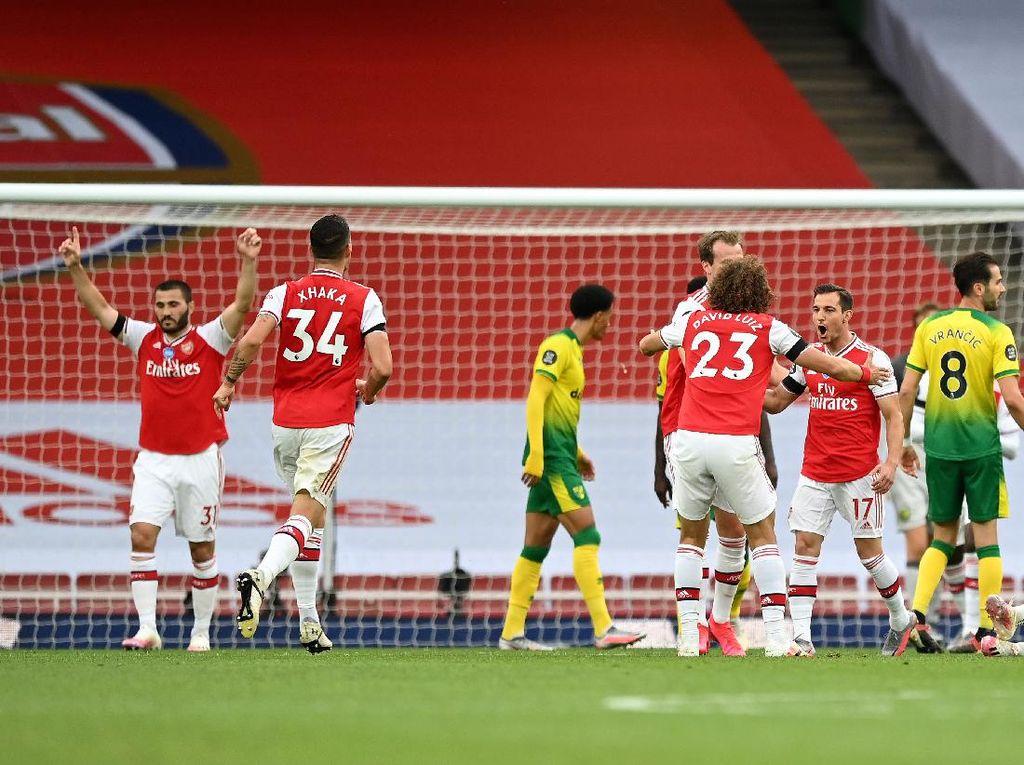 Arsenal Vs Norwich: Meriam London Menang Telak 4-0