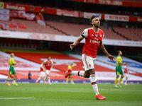 Arteta Tantang Aubameyang: Bikin 100 Gol Lagi untuk Arsenal