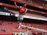 Arsenal Vs Leicester: Adu Tajam Vardy Vs Aubameyang