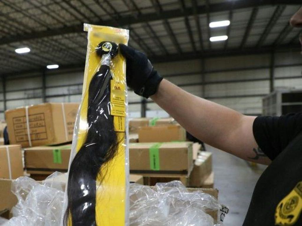AS Sita Produk Rambut dari China yang Dibuat di Kamp Xinjiang