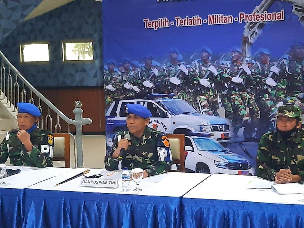 Letda RW Dijerat Pasal Berlapis di Kasus Penusukan Serda Saputra