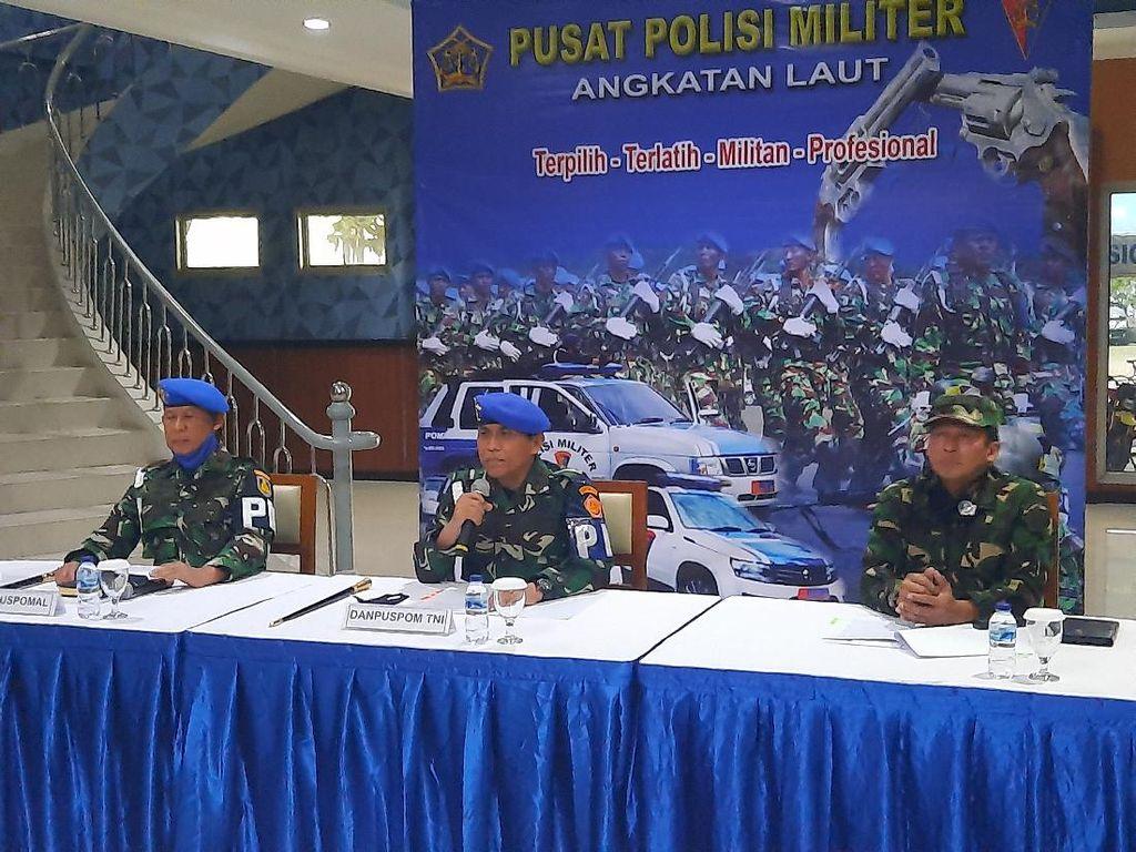 Danpuspom TNI: Letda RW Sedang Mabuk Saat Tusuk Serda Saputra