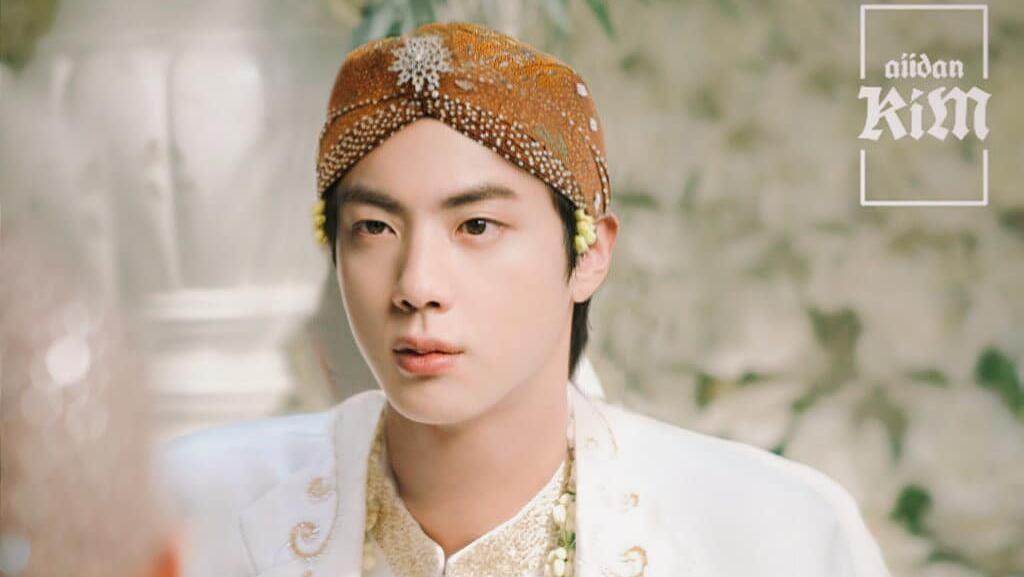 10 Editan Para Member BTS Jadi Pengantin Jawa, Bikin Fans Halu