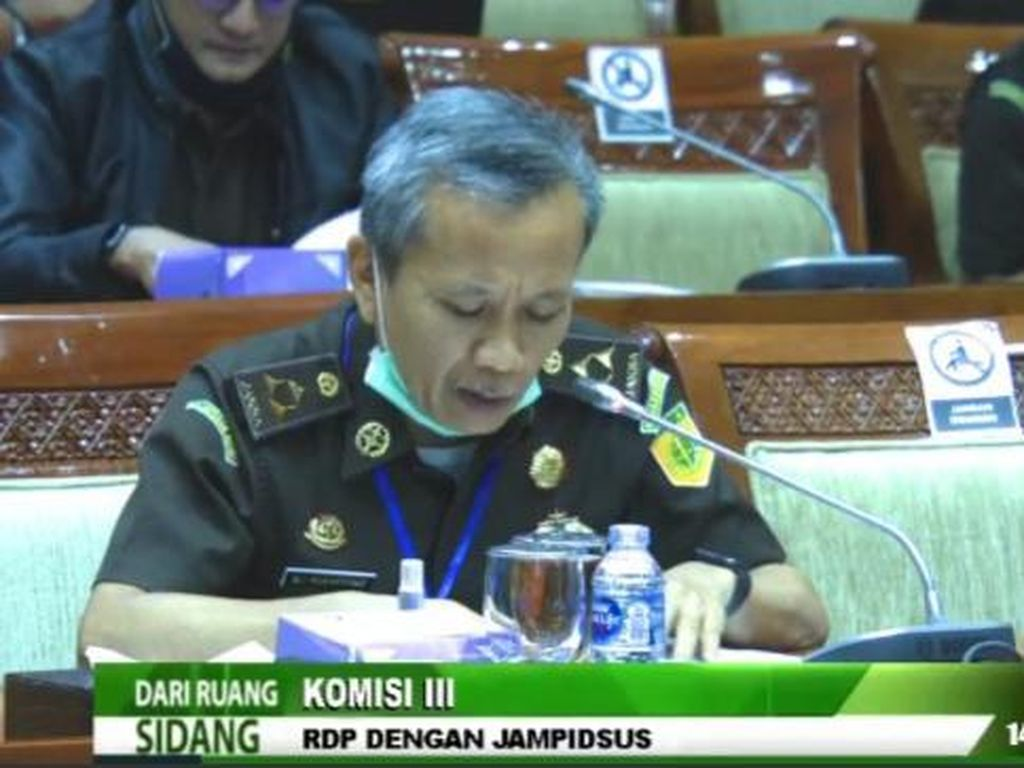 Kejagung Minta Komisi III DPR Ungkap Oknum yang Selamatkan Djoko Tjandra