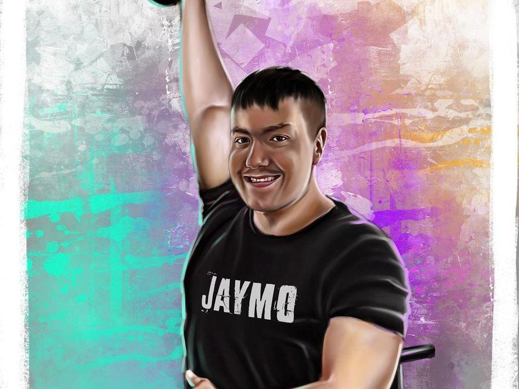 7 Potret Inspiratif Pria Penderita Lumpuh Otak yang Jadi Instruktur Gym