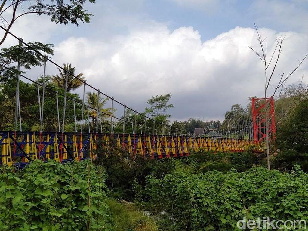 Jembatan Jokowi yang Ngehits di Magelang Bersolek Kembali