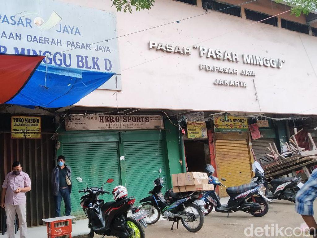 Ganjil-Genap di Pasar Ditiadakan, Begini Suasana di Pasar Minggu Pagi Ini