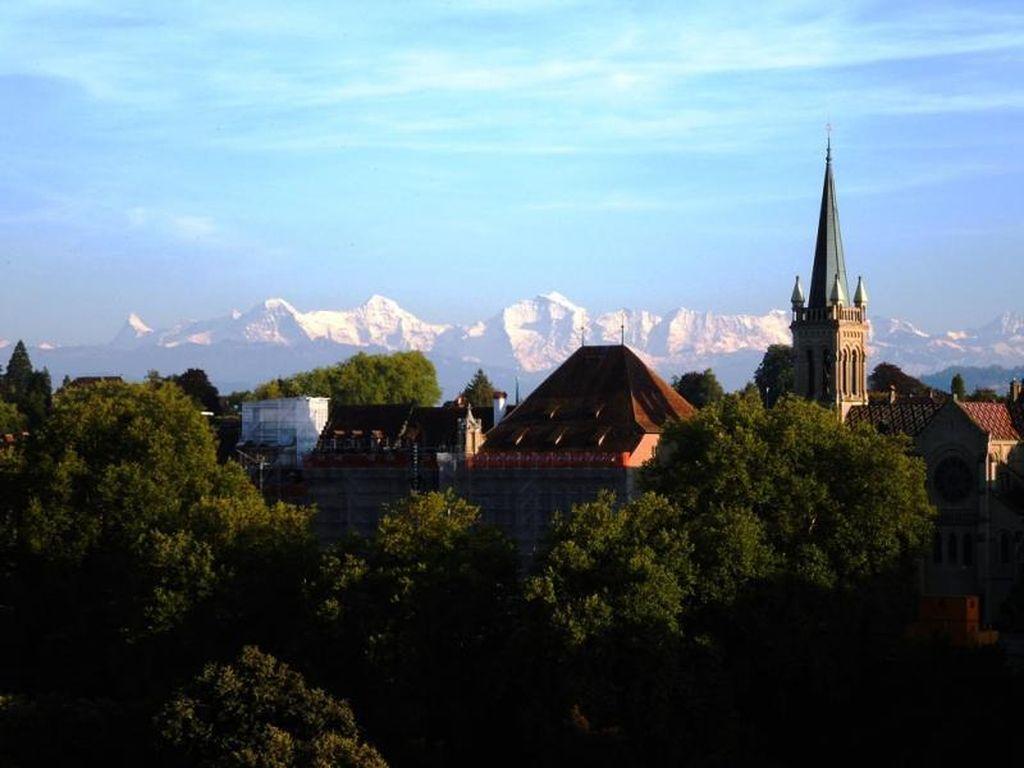 Foto: Sepotong Senja dari Swiss