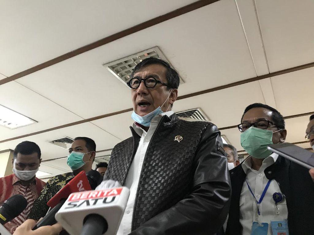 Yasonna Tegaskan SK Berkarya Kubu Muchdi Pr Sesuai Aturan