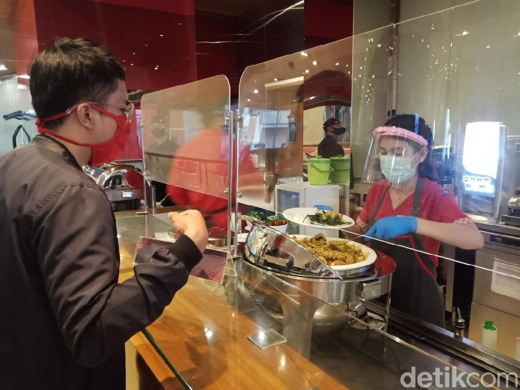 New Normal di Restoran Hotel Ibis Bandung Trans Studio