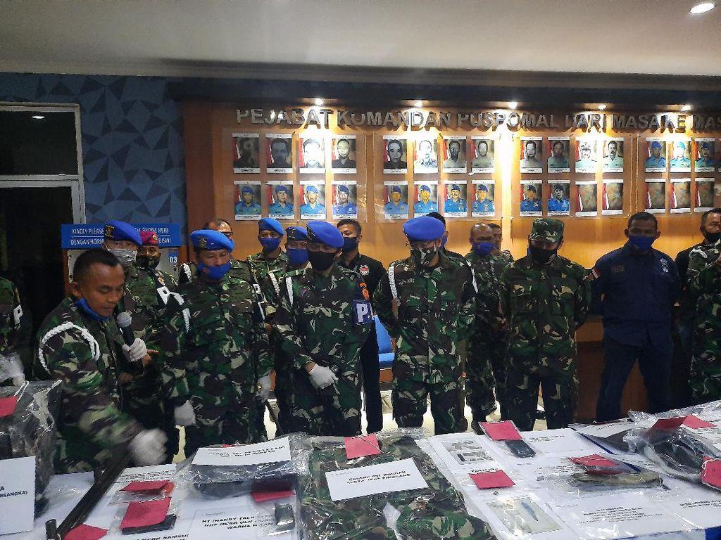 Buntut Penusukan Serda Saputra, 9 Warga Sipil Ditangkap Polres Jakbar