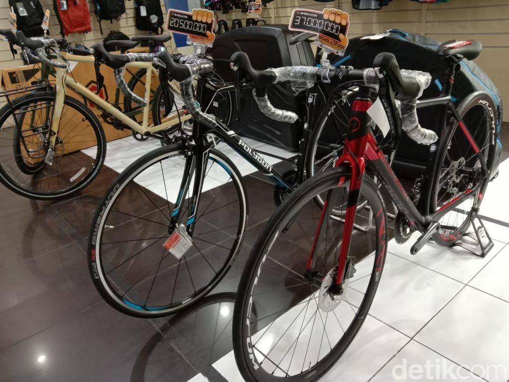 Pilih-pilih Sepeda, Harganya Mulai dari Puluhan hingga Ratusan Juta