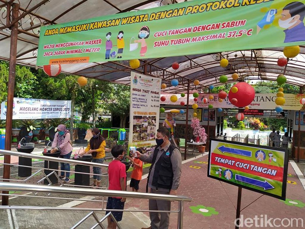 Foto: Taman Kyai Langgeng Buka Lagi Buat Libur Akhir Pekan