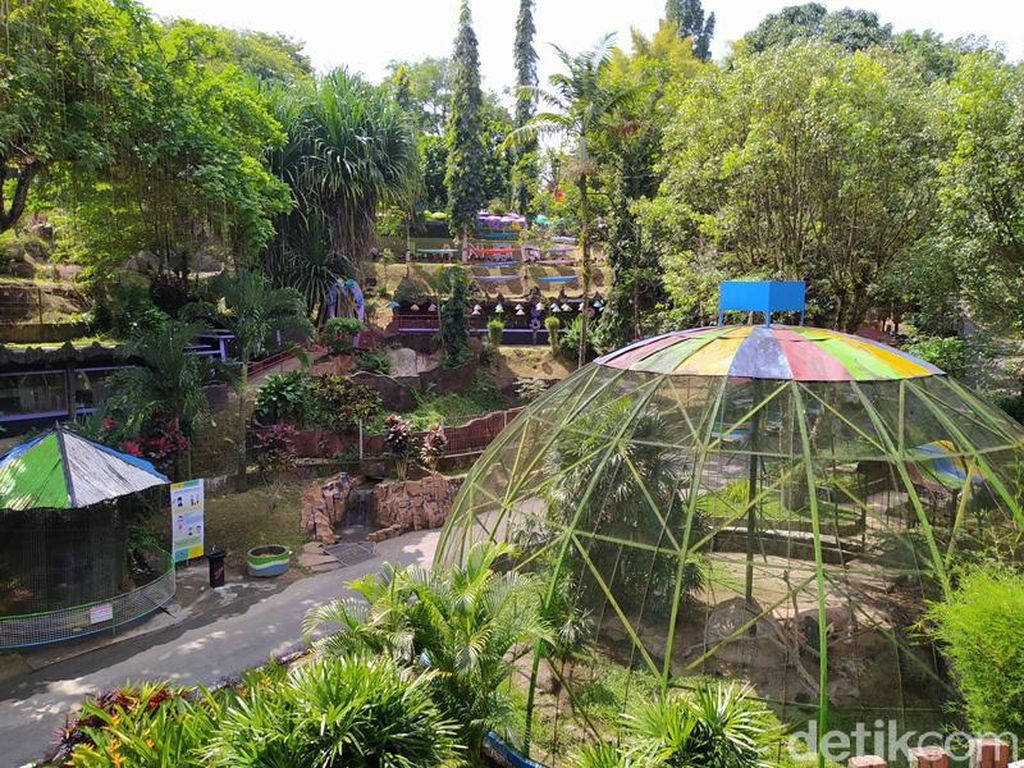 Taman Kyai Langgeng Magelang Ditutup Selama PPKM Darurat