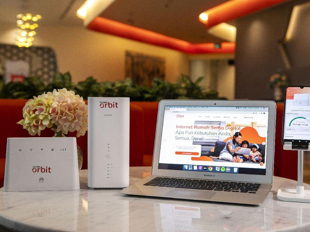Telkomsel Orbit Jadi Andalan Telkomsel Soal Internet Rumah