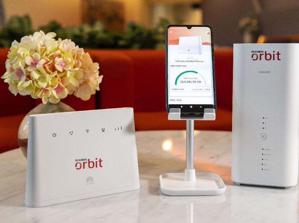Sasar Pengguna Internet Rumah, Telkomsel Orbit Makan IndiHome?