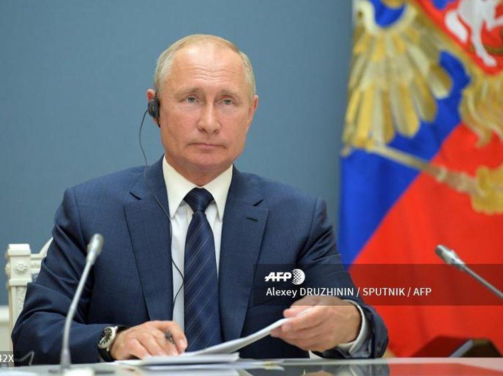 Putin Pamerkan Vaksin Corona Buatan Rusia di Sidang Umum PBB