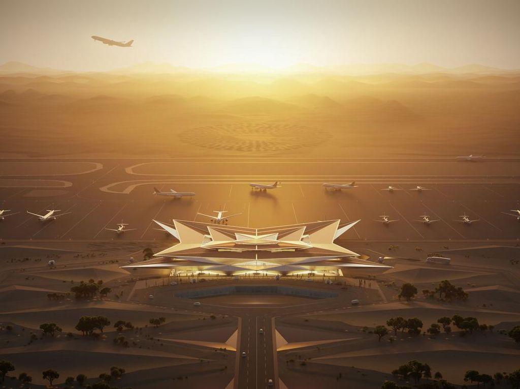 Amaala, Calon Bandara Super Mewah di Arab Saudi
