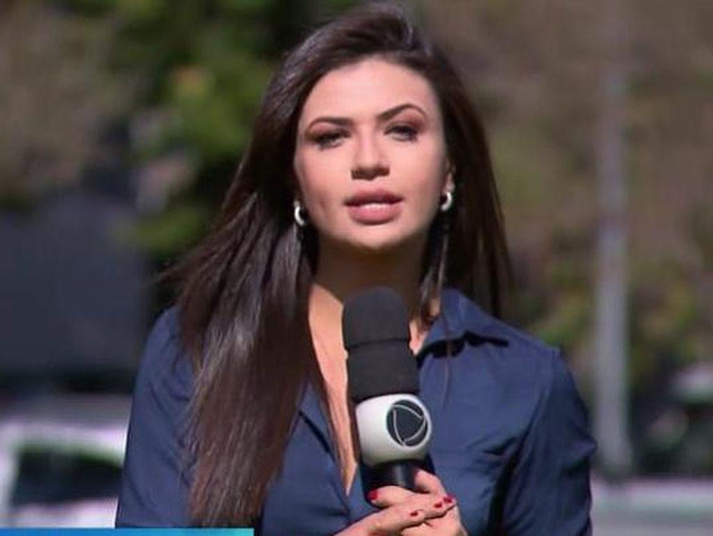 Reporter Ini Syok Dirampok dan Ditodong Pisau Saat Sedang Siaran Langsung