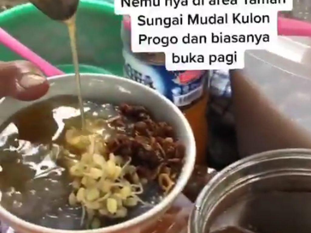 Dawet Sambel, Sensasi Makan Dawet Pakai Sambal Kacang
