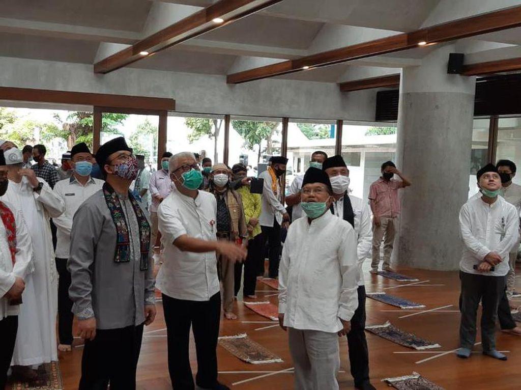Anies Resmikan Pembukaan Kembali Masjid Amir Hamzah di TIM