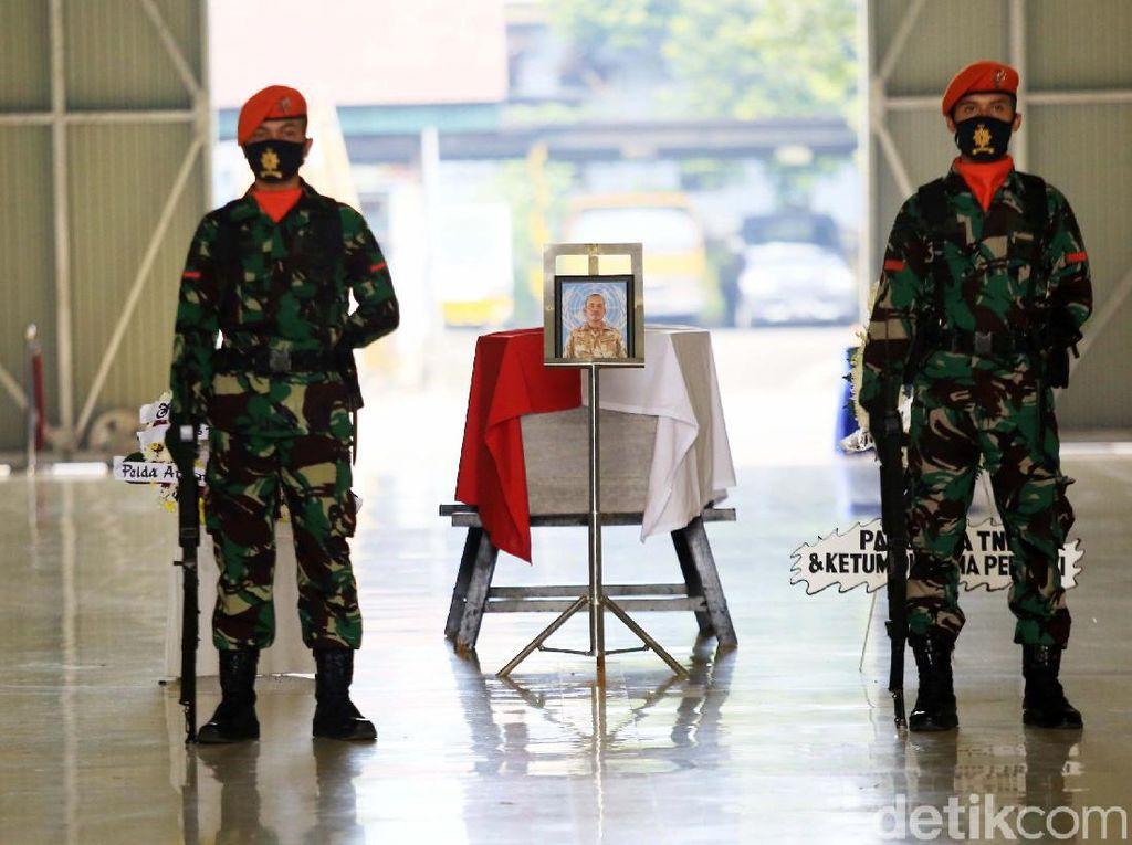 Jenazah Prajurit TNI yang Gugur di Kongo Dimakamkan di Pekanbaru Hari Ini