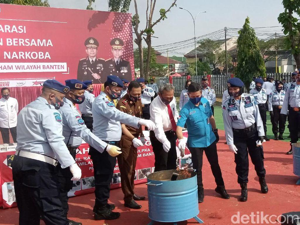 Kepala BNNP Ungkap Banten Rentan Jadi Jalur Edar hingga Produksi Narkoba